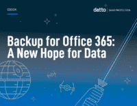 Backup for Office 365 - A New Hope for Data